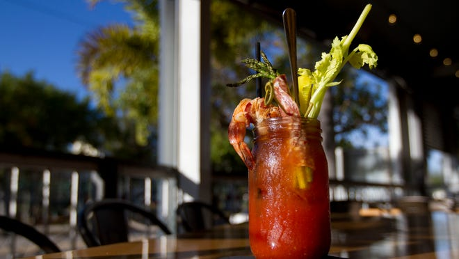 Cork Soakers' signature Bloody Mary is only available Sundays at the Cape Coral restaurant.