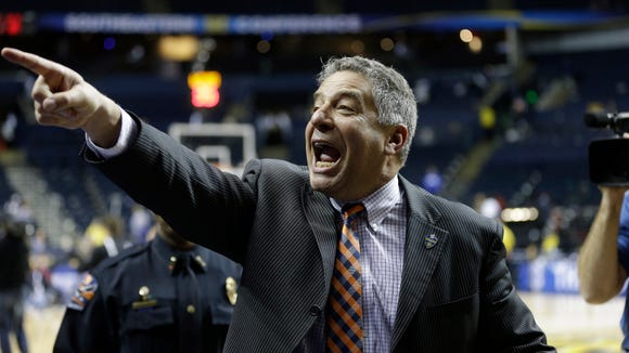 Auburn head coach Bruce Pearl is looking for at least