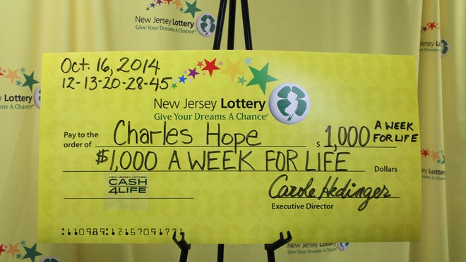 Charles Hope purchased the winning ticket at the Hainesville General Store in Branchville.