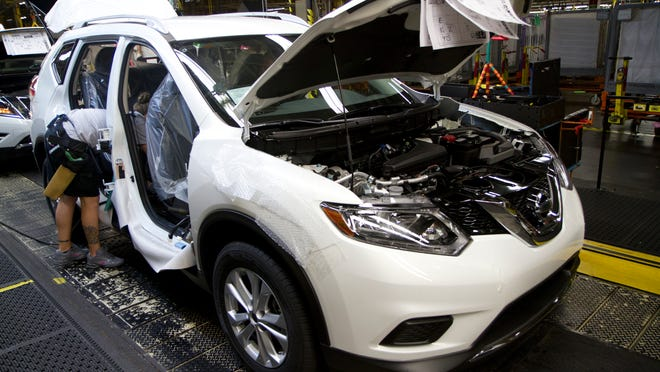 Nissan's Smyrna manufacturing plant in 2014 became the top producing automotive plant in the nation thanks in part to strong sales of the Rogue.