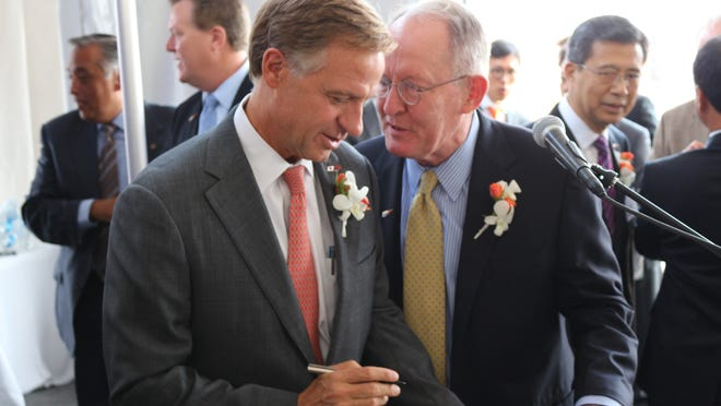 During separate events Monday at the Republican National Convention in Cleveland, Gov. Bill Haslam and U.S. Sen. Lamar Alexander discussed the role national security will play in this year's presidential election.