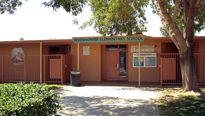 Dwight Eisenhower Elementary School on Dillon Avenue in Indio will be rebuilt if Measure KK passes.