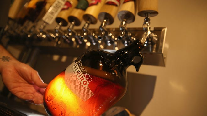 "Half-gallon ""growlers"" are closer to going under brewery taps across Florida."