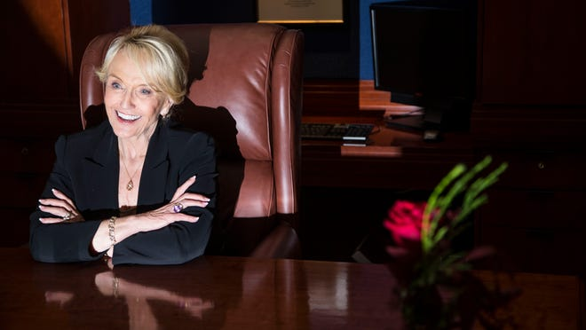 Outgoing Gov. Jan Brewer reflects on her days in office on Dec. 16.