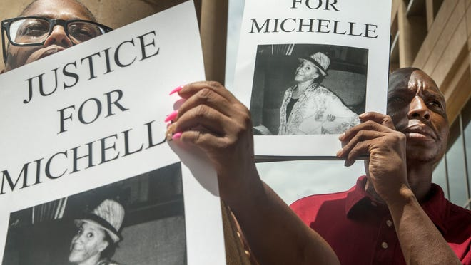 The family of Michelle Cusseaux, a woman with mental illness who was fatally shot by Phoenix police in August, filed a $7 million notice of claim, a precursor to a lawsuit, against Phoenix in February.