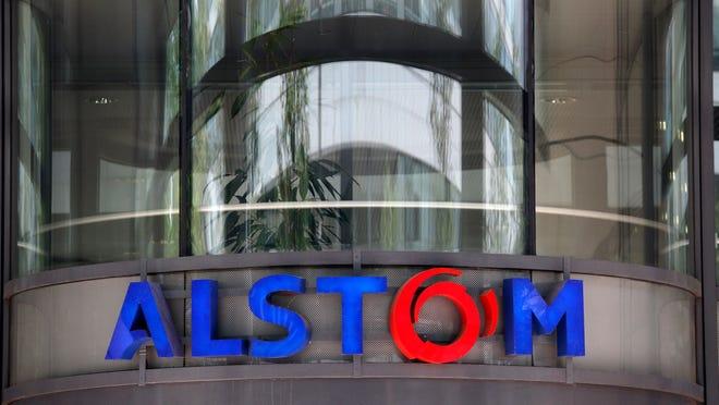 Alstom headquarters in Levallois-Perret, outside Paris, France.