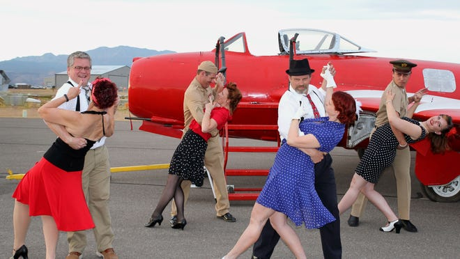 The Western Sky Aviation Warbird Museum will host its annual Big Band-era hangar dance Friday at the museum site north of the St. George Regional Airport.