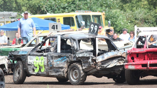 A demolition derby will be held at 1 p.m. Sept. 2 at the Portage County Fair in Rosholt. Tickets cost $5 for children 6 to 12 and $8 for those 13 and older.