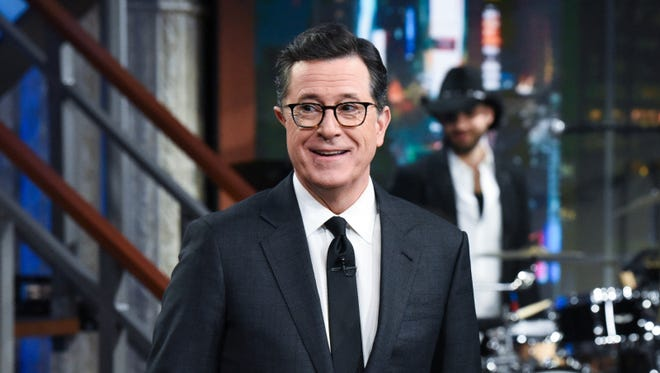 A man rethinking his decision to workout with Notorious RBG, Stephen Colbert.