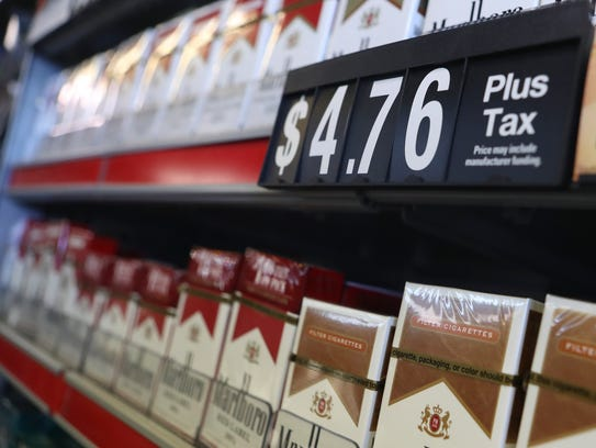 Saturday the new cigarette tax goes into effect in