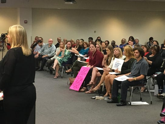 The Brevard County school board on Tuesday discussed