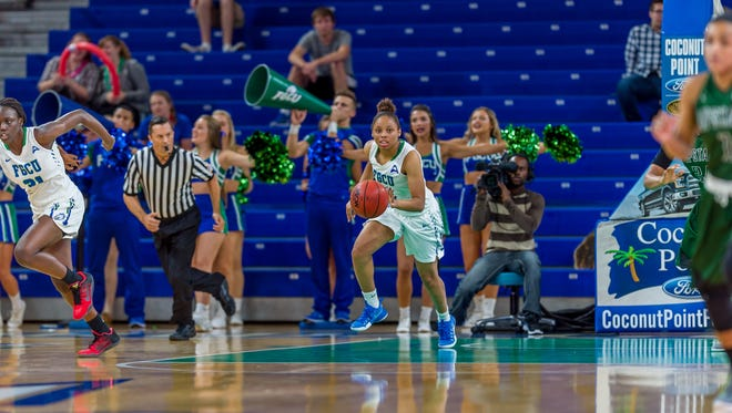 Despite replacing four starters, FGCU (16-6, 5-0) already is hitting its stride.