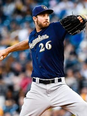 Taylor Jungmann was a first-round pick of the Brewers in 2011.