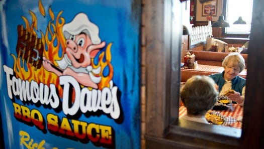Famous Dave's is retooling restaurants following a drop in earnings