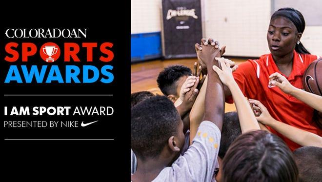 I Am Sport Award, presented by Nike.