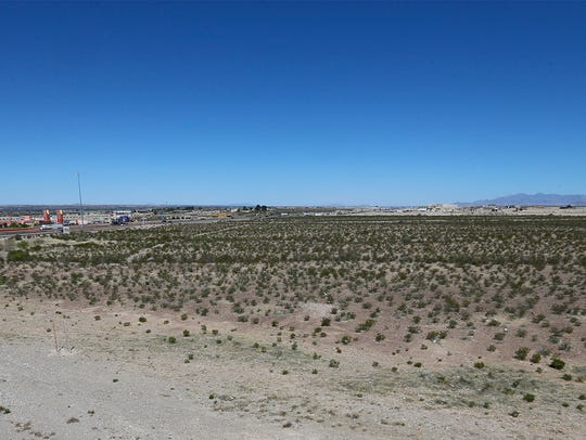 Another view of the proposed location of a $28 million-$30