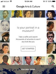 The Google Arts and Culture app is currently the top