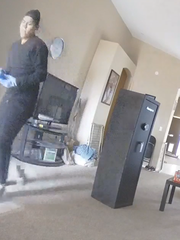 Peoria police seek this man in connection to a home that was burglarized on Feb. 14.