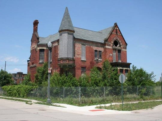 """The Ransom Gillis house will get the """"Rehab Addict"""" treatment. The 1876 house is one of the sole survivors in Detroit's historic Brush Park neighborhood."""