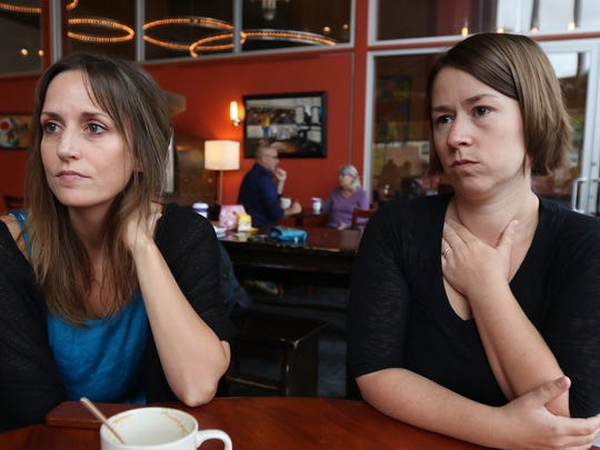 Jessica Cantlon, associate professor, and Celeste Kidd,
