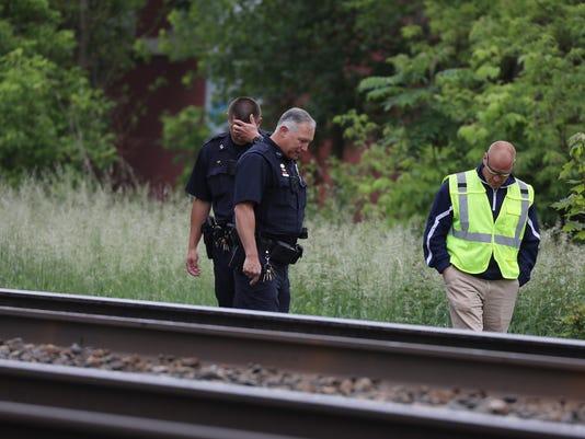 fatal crash train and pedestrian