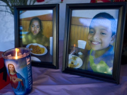 Marillany Julian-Solis, 5 (left) and Alexander Julian-Solis, 7, were among the lives lost Saturday in an accident on I-95. (LEAH VOSS/TREASURE COAST NEWSPAPERS)