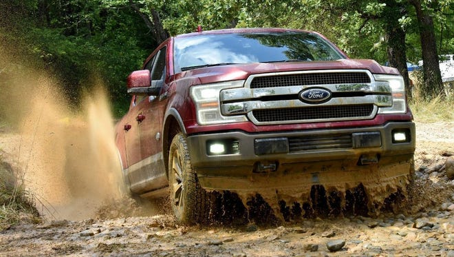 2018 Ford F-150 takes on the mud