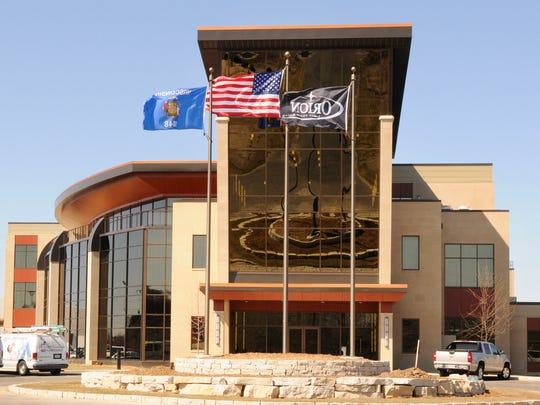 FILE - Orion Energy Systems headquarters in Manitowoc.