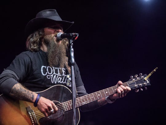 Cody Jinks performs at the Pot of Gold Music Festival on Saturday, March. 17, 2018 at Rawhide.
