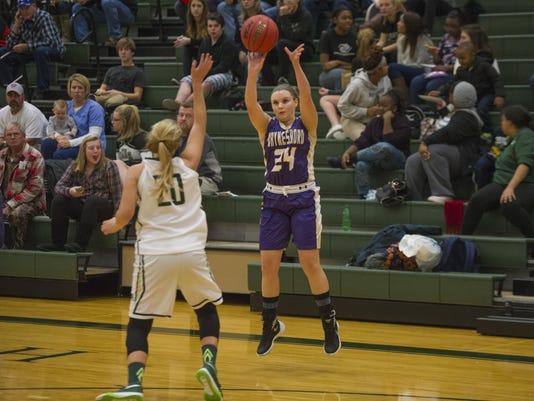 Waynesboro at Wilson girls basketball
