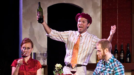 """""""Wine Lovers: The Musical"""" follows the story of two mismatched wine class students, a painter and a business woman, who fall in love."""