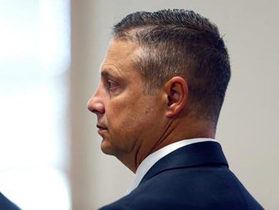 Retired Parsippany Police Capt. James Carifi at a trial