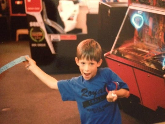 Chris as Child