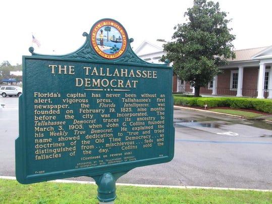 Democrat historic marker.JPG