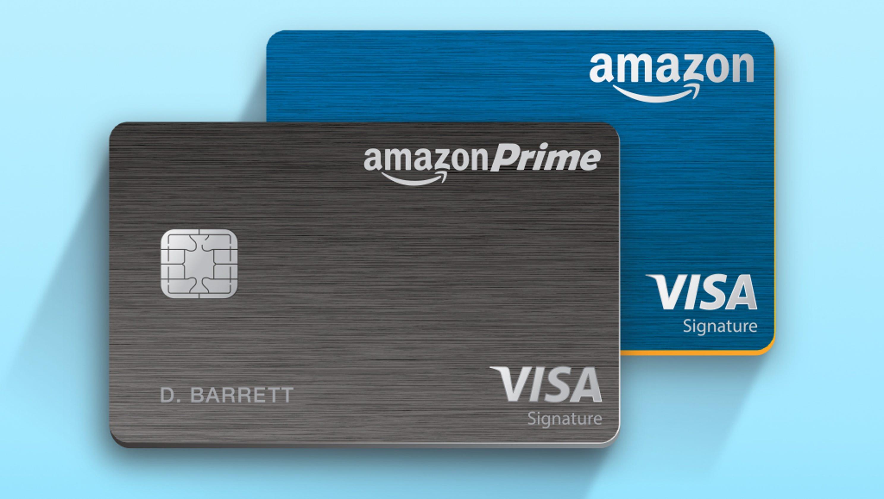 Free amazon credit card