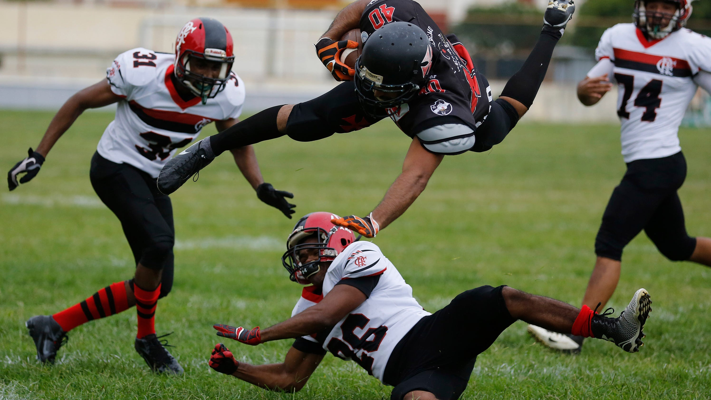 American football growing quickly in Brazil