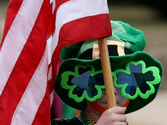 A scene from the 2015 St. Patrick's Day Parade in South Amboy.