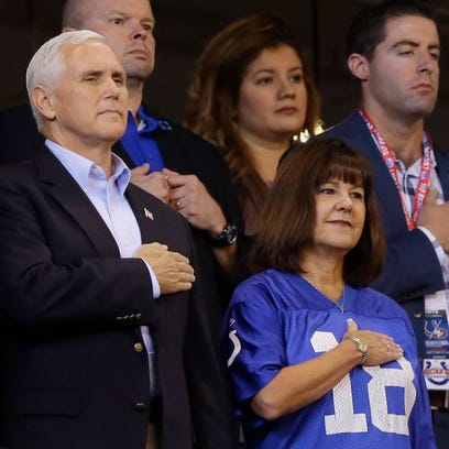 After his walkout, here's what Mike Pence wants the NFL to do over players who kneel during national anthem