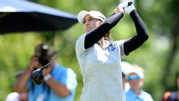Wayne-native Marina Alex tees off to begin the final