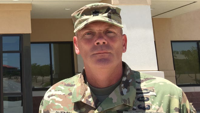 Lt. Col. Johnny R. Sutton is the new commander of the 1st Battalion, 67th Armor Regiment.
