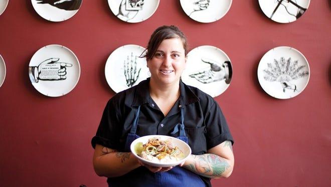 Sacha Levine: Co-chef, Ocotillo Restaurant, Phoenix