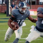 Georgia Southern's Matt Breida (36) led the Sun Belt in rushing in 2014.