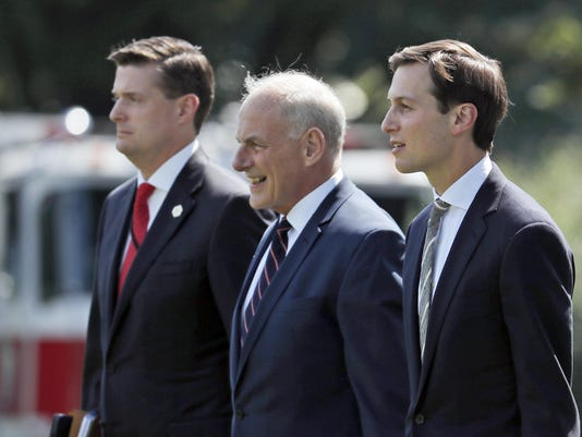Rob Porter,John Kelly,Jared Kushner