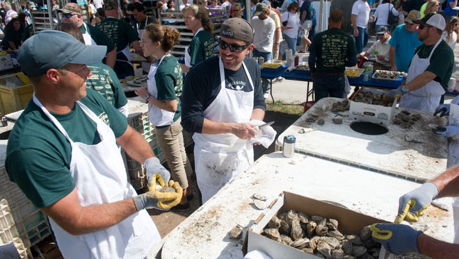 The 11th annual Port Salerno Seafood Festival will be 10 a.m. to 8 p.m. Saturday with most food vendors available from 11 a.m. to 7 p.m.