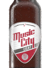 Music City Beer Company's flagship Music City Light