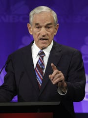 Ten-term U.S. Rep, Ron Paul of Texas, a three-time
