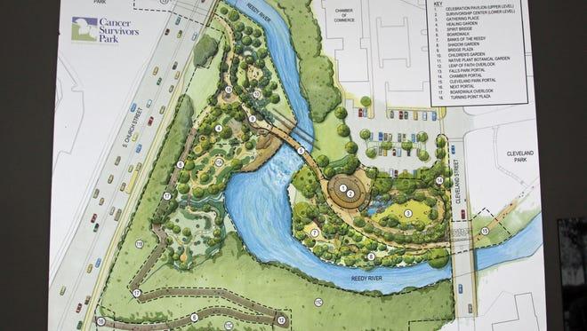 Cancer Survivors Park in Greenville
