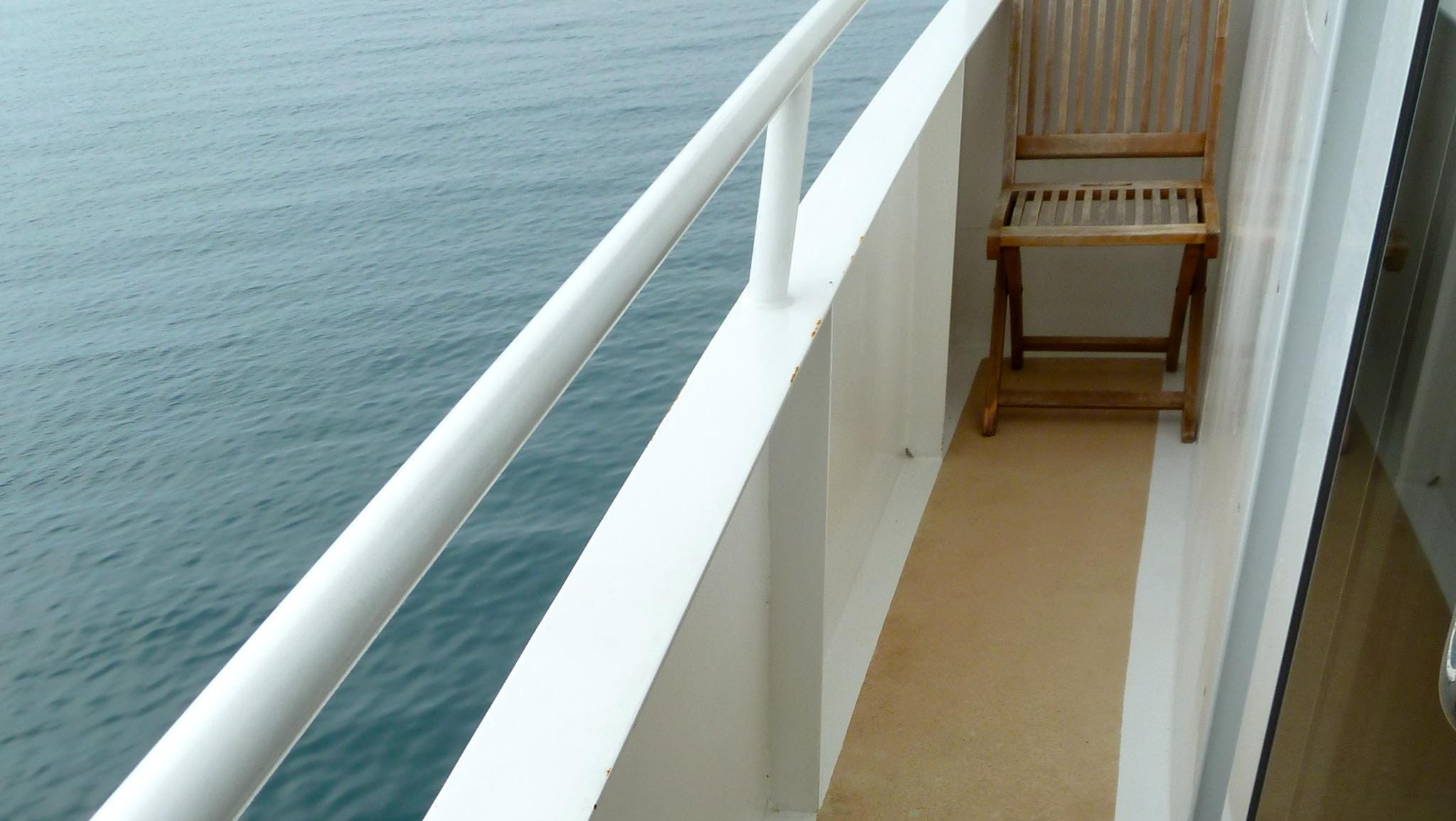 Commodore Suites also have their own private balconies.