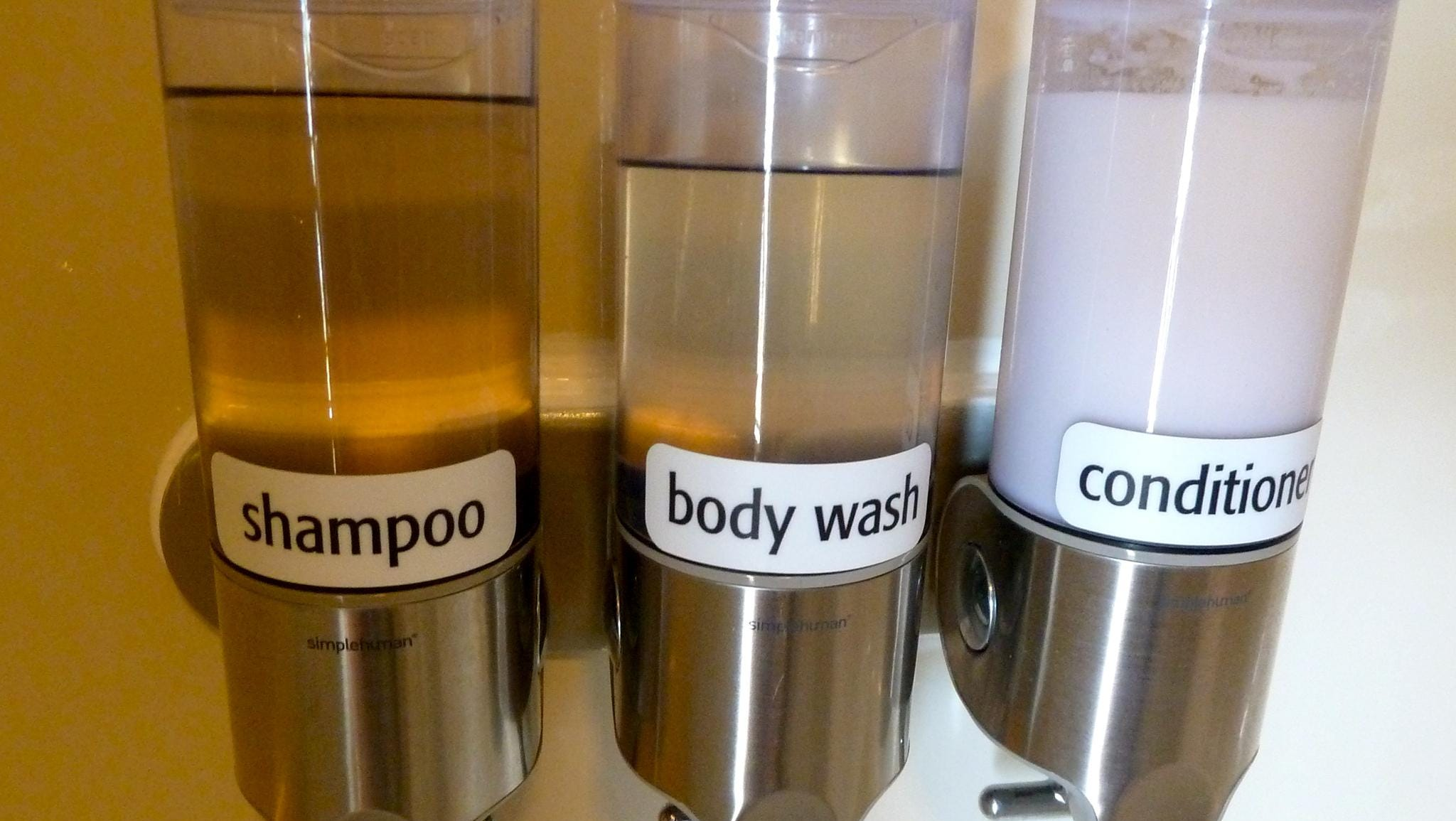 Eliminating the need for miniature plastic bottles, bathrooms are equipped with shampoo, body wash and conditioner dispensers. Un-Cruise uses all-natural, high quality, eco-friendly EO brand products.