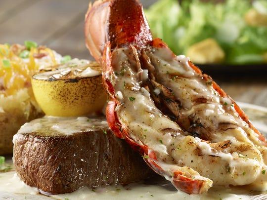 Flo filet citrus grilled lobster tail.